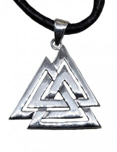 Valknut Pendant Necklace...