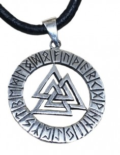 Valknut Nordic Necklace...