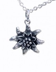 Edelweiss Pendant Necklace,...
