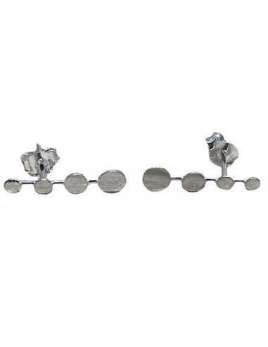 Sterling Silver Ear Climber, Silver...
