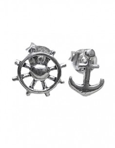 Sterling Silver Anchor -...
