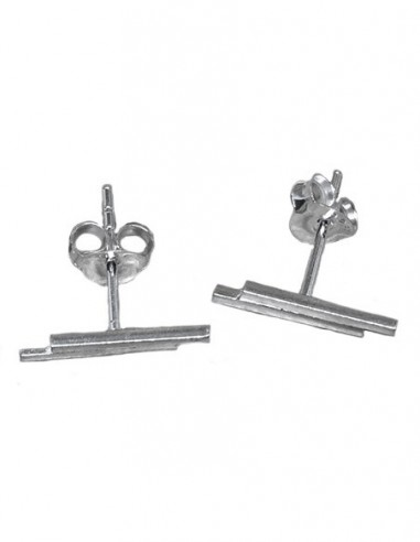 Sterling Silver Tiny Bar Studs...
