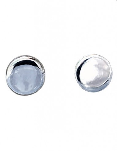 Tiny Disc Studs Earrings - Tiny...